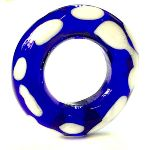 Large cobalt blue annular/bangle from Stanway, Colchester