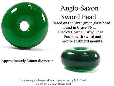 Sword Bead - Riseley Horton Grave 86