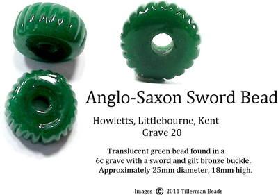 Sword Bead - Howletts - Grave 20