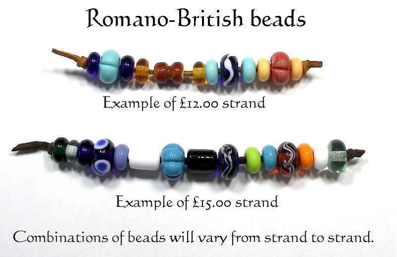 Romano-British bead mix