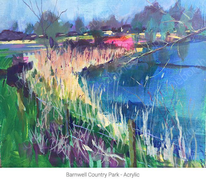 Barnwell Country Park - Acrylic