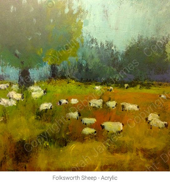 Folksworth Sheep - Acrylic