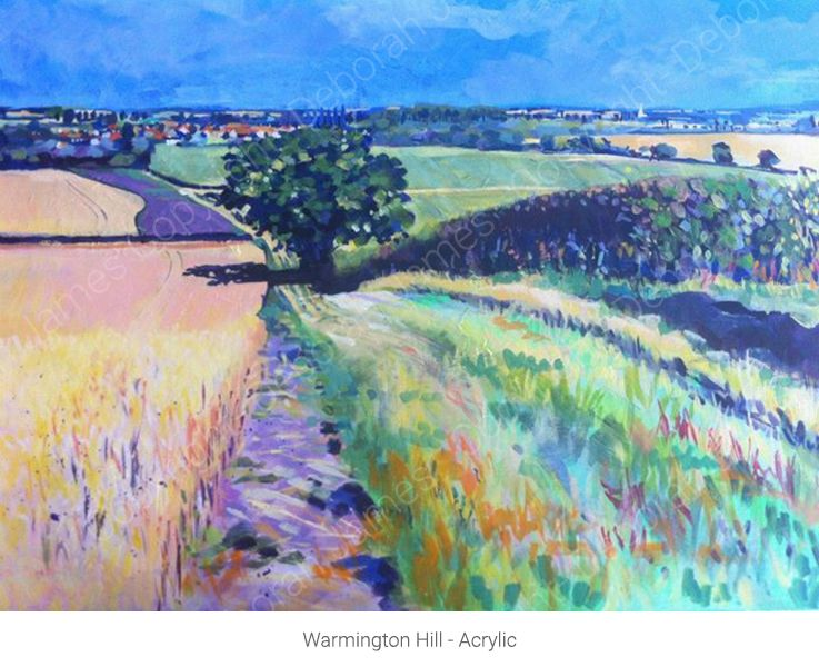 Warmington Hill - Acrylic