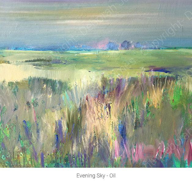 Evening Sky - Oil
