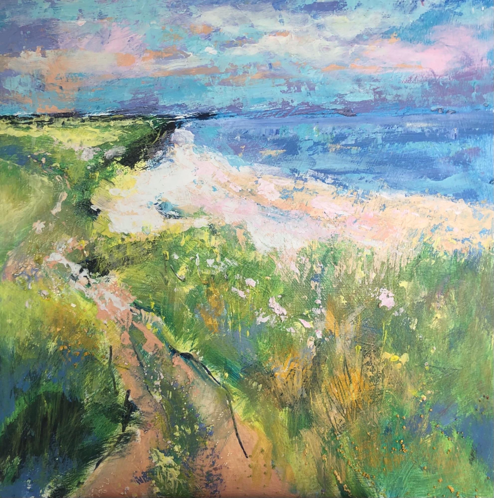 Cliff path Norfolk