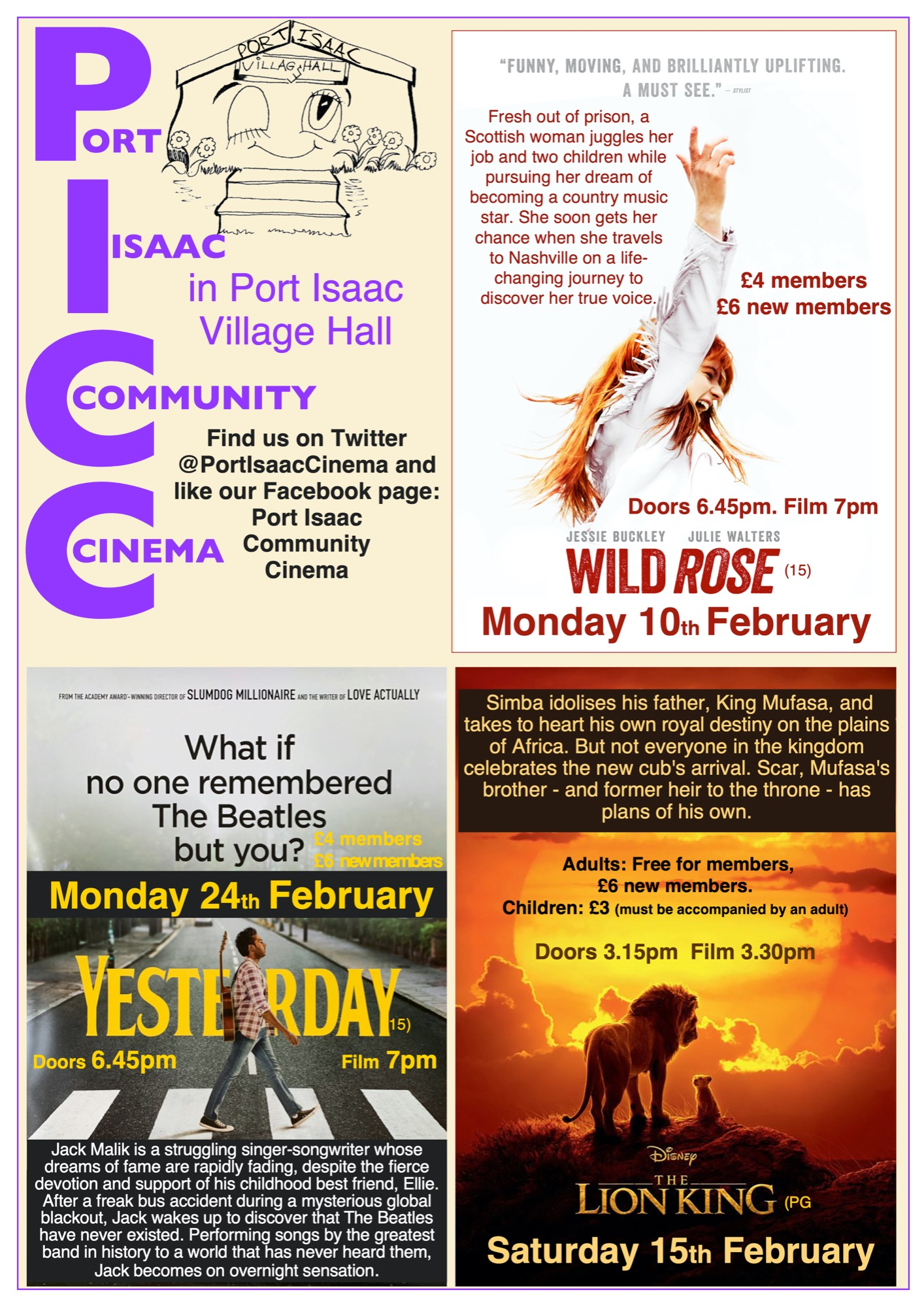 PICC Feb poster