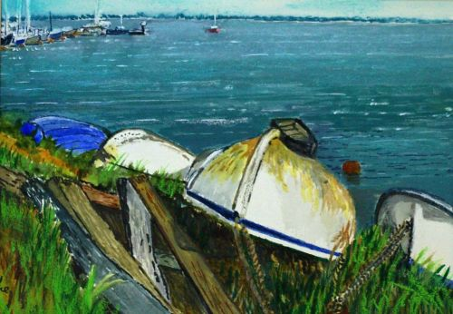 hauled Ashore