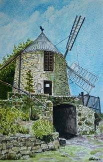 The Windmill, Lautrec, France