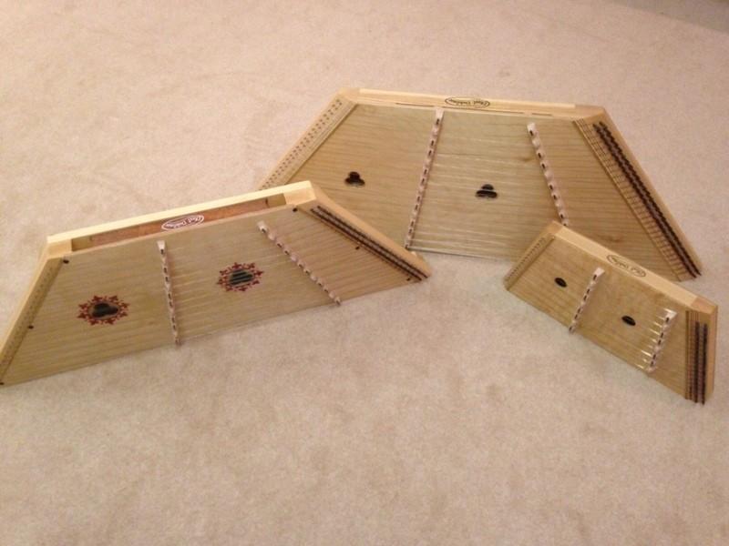 dizzi dulcimer range of instruments