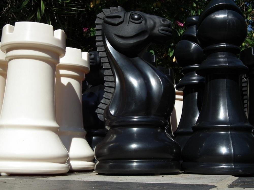 Bigchess Set Black/Ivory