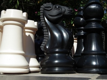 Bigchess Set Black/Ivory