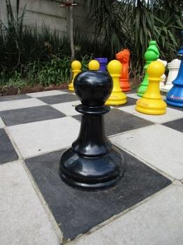 Black Pawn (Fibre Glass)  A17