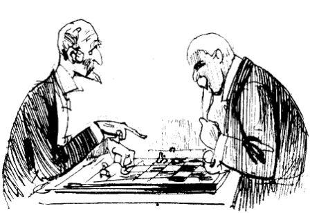 boc- old fellows playing chess
