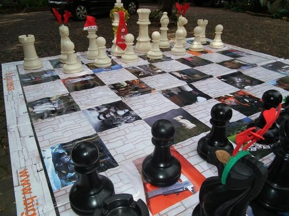 pvc chess board