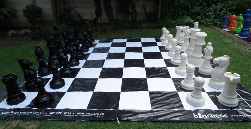 BigChess Set and PVC Board for Rental
