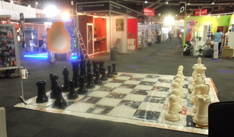 bigchess at homemakers expo
