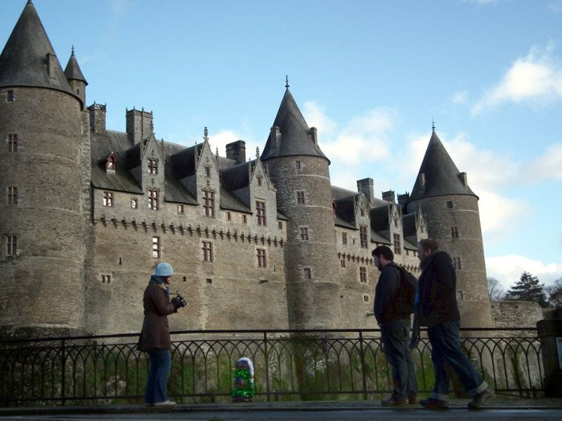 pics at chatteau josselin