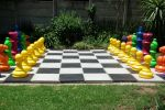 mixed colours and mixed colours chess set