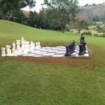 bigchess set in the drakensberg