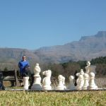 playing in the drakensberg