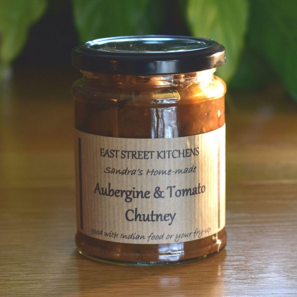 Aubergine & Tomato Chutney