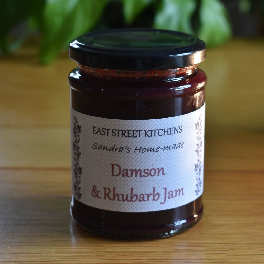 Damson & Rhubarb Jam