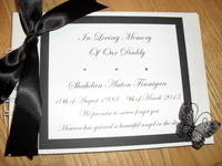 Condolence/Memory Books