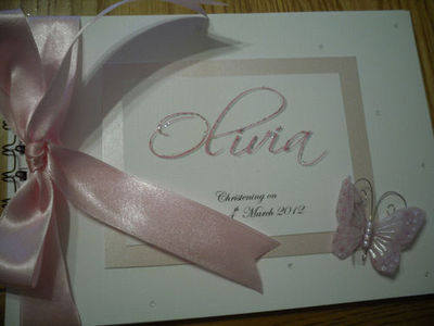 PERSONALISED 1ST/ FIRST BIRTHDAY/ CHRISTENING / NAMING DAY PHOTO /GUEST BOO