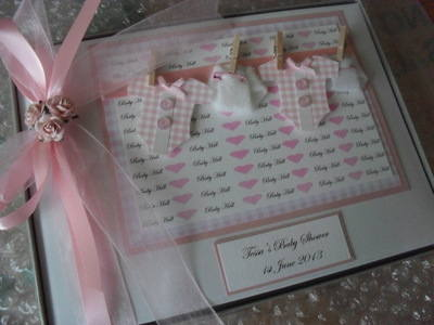 PERSONALISED CHRISTENING NAMING DAY GUEST BOOK