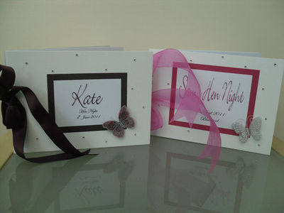 PERSONALISED HEN NIGHT ALBUM /  HEN NIGHT  KEEPSAKE