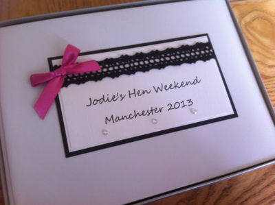 Personalised Hen Night Photo Album x 160 photo's