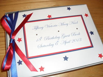 Birthday Guest Book