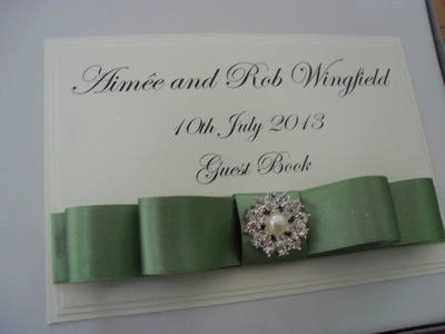 Vintage Pearls Wedding Album
