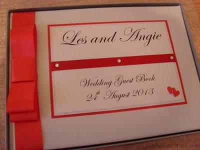 Double Heart Wedding Photo Album