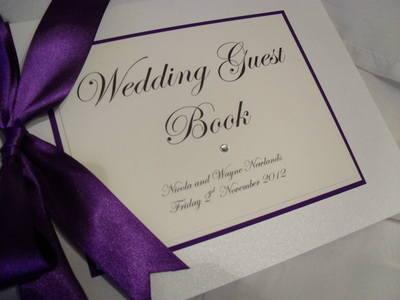 Timeless Wedding Guest Book
