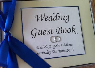 Wedding Ring Guest Book