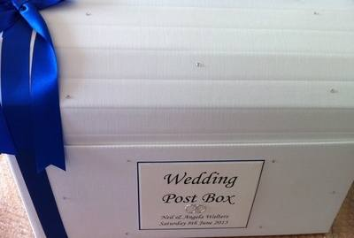 Wedding Ring Post Box Chest