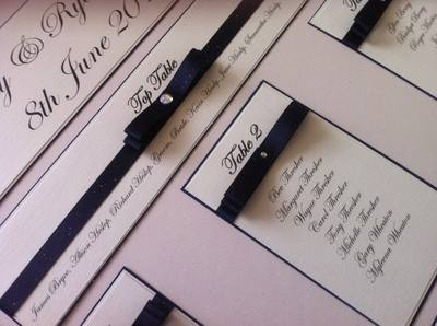 A3 Classic Wedding Seating Plan