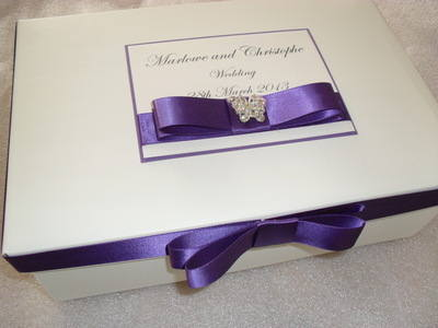 Butterfly Diamante Keepsake Box