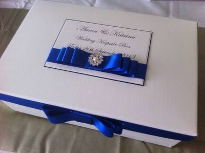 Pearl & Diamante Keepsake Box