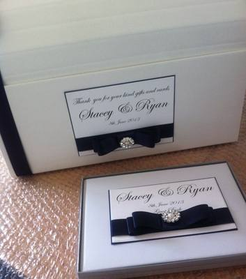 Wedding Chest Post Box & Guest Book
