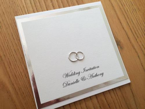 Wedding Ring Wedding Invitation
