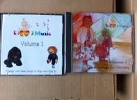 Sign2Music Vol 1 and 2 CD Package