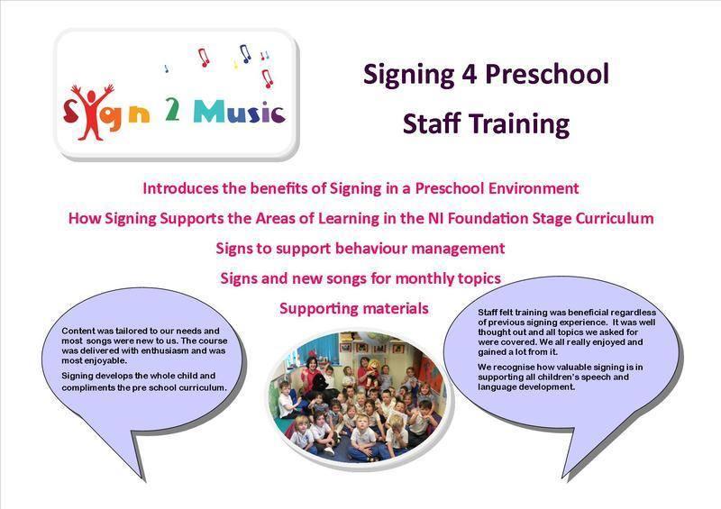 Signing 4 Preschools