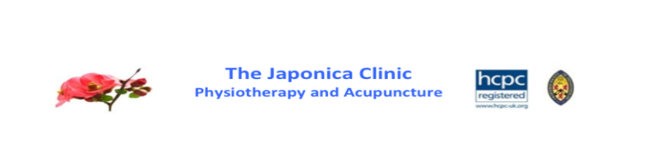 The Japonica Clinic - Professional Physiotherapy and Acupuncture, site logo.