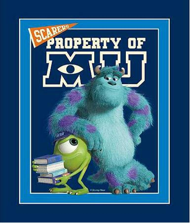 Licensed Disney - Monsters Inc: University Panel