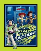 Licensed Disney - Toy Story: Ready for action Panel