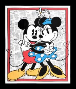 Licensed Disney - Mickey and Minnie Panel