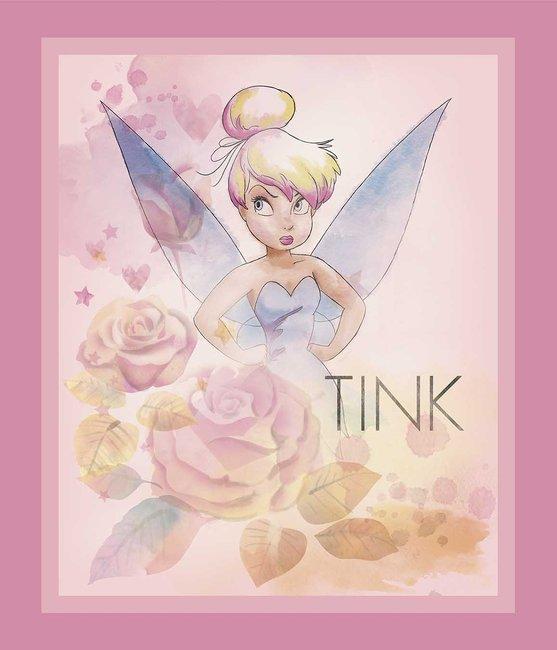 Licensed Disney Tinkerbell Pink Panel
