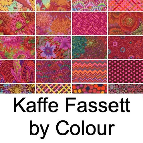 Kaffe Fassett Collective - Fabrics by Colour